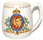 King George VI Queen Elizabeth 1937 Coronation Mug Beswick Ware Pottery