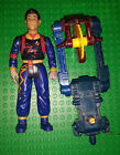 REAL GHOSTBUSTERS Winston Zeddmore Power Pack FIGURE with back pack Kenner