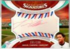2006 Sweet Spot MIGUEL CABRERA Red & Blue Stitch Red Ink Signatures AUTO! # 299!