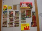 2012 MARS ATTACKS TOPPS HERITAGE 85-CARD MASTER SET+BOX+POSTER+NEW UNIVERSE+3D