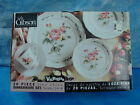 Discontinued Gibson Victorian Rose China 19Set.  Pce Set Service 4 Cottage Chic