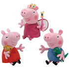 TY Beanie Babies - SET OF 3 U.S. Peppa Pigs (Peppa, George & Princess) - MWMT's