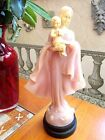 Blessed Virgin Mary w/ Baby Jesus-Transluscent  resin Made in ITALY  by BIANCHI