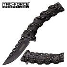 Tac-Force Stone Wash Stainless Spring Assist Assisted Folder Knife Knives #859