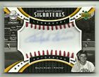 Ralph Kiner 2007 UD Sweet Spot Auto Card 35 Baseball Leather Deceased Autograph
