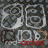 52.4mm 110cc BORE PIT DIRT BIKE COMPLETE ENGINE GASKET SET KIT 1P52 PITBIKE