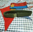 Vietnam War_ BELT, Flag, VIET CONG BELT_ NFL BELT_ MILITARY BELT_ Raised