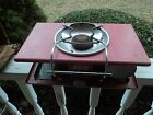 VINTAGE COLEMAN 5402A PINK LP-GAS PICNIC CAMP STOVE with box