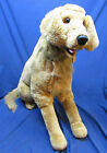 Plush Melissa & Doug LARGE Realistic Life-Like GOLDEN RETRIEVER Dog Brown 35 in