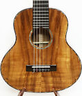 3A Curly Hawaiian Koa Baritone Guitarlele Sweet Sound Flannel Hard Case MGU05