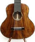 3A Curly Hawaiian Koa Baritone Guitarlele Sweet Sound Flannel Hard Case MGU06