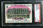 Bart Starr (d.19) HOF 1959 Topps #46 Green Bay Packers Signed SGC Auth Autograph