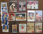 23 Baseball Cards (Reprints, Promos, etc): Ted Williams,Ty Cobb,Honus Wagner,etc