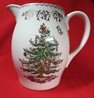 Spode Christmas Tree Gold Pitcher 3.6 Pints 7 1/4