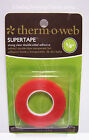 Thermoweb Super Tape 1 8 x 6 yd Roll Acid Free Permanent Strong Clear Dbl Sided