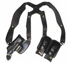 Glock 30S Pro Carry Shoulder Holster Horizontal LH BLK