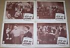 LET'S GO STEADY (1944) JUNE PREISSER * MEL TORME * LOT OF 4 ORIGINAL LOBBY CARDS