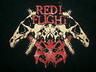 RED I FLIGHT T SHIRT Band Concert Tour Metal Post Hardcore Victory Records XL