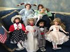Lot of (6)  Dolls by Linda Mason-Bride, Groom, Courtney, Rachel, Glory +1 more?