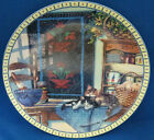 Cat Collector Plate Lazy Morning Sleeping Cats Cozy Country Corners Porcelain