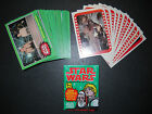 1977 STAR WARS (4TH SERIES) COMPLETE CARD & STICKER SET TOPPS *CRISP NMMT*