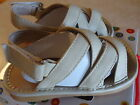 NEW UNISEX CLASSIC CREAM SQUEAKER SNEAKERS SANDALS SZ 8