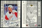 1998-99 SP Authentic Sign of the Times #SY Steve Yzerman Autograph