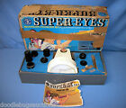 Vintage 1968 Mattel SUPER-EYES Science Microscope Telescope Astronomy Play Set