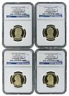 2011 S PRESIDENTIAL DOLLAR 1 SET NGC PF69 Ultra Cameo Early Releases