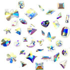 Swarovski Flatbacks No Hotfix Rhinestones CRYSTAL AB 001 AB Pick Your Shape
