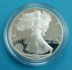 1995 P 1 oz Proof Silver American Eagle w Box  CoAKEY DATE Excellent