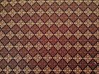 Belle Notte by Red Rooster BTY Black Brown Tan Scroll Diagonal Check