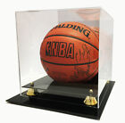 Deluxe UV Protected Full Size Basketball Display Case w Mirror Back