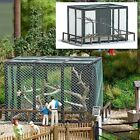 HO Busch 1583 Animal Cage KIT for Park / Circus / Zoo Dioramas : 1/87 scale