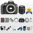 Canon Digital Rebel T5 DSLR Camera Body + 18-55mm IS II Lens Kit *New*