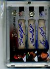 JUSTIN UPTON BILLY BUTLER 2007 EXQUISITE AUTOGRAPH ROOKIE CARD #EE3-UBB 35