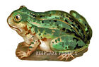 Frog Die Cut Vintage Reproduction Fabric Block FrEE ShiPPinG WoRld WiDE