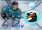 13-14 Upper Deck Ultimate Ice Premieres Rookie Patch Auto Tomas Hertl 6 10