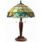 ELEGANT TIFFANY STYLE VINTAGE STYLE PEARL TABLE LAMP LIGHT LIGHTS NEW