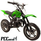 FREE SHIPPING KIDS 49CC 2 STROKE GAS MOTOR DIRT MINI POCKET BIKE GREEN H DB50X
