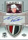 2005-06 THE CUP THOMAS VANEK ROOKIE RC 4 COLOUR JERSEY NUMBER 26 199 1 1 WINGS