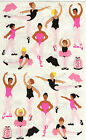 Mrs Grossmans Giant Stickers Ballet Ballerinas Dance Toe Shoe 2 Strips