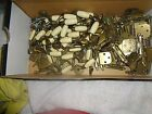 vintage cabinet knob and hingles with screws