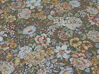 Country Florals by Joan Kessler for Concord BTY Calico Flowers on Brown