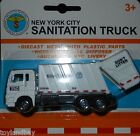 New York City NYC Sanitation Department Garbage Truck 1:64 Scale Diecast Mint