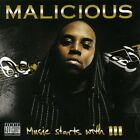 Malicious : Music Starts With An M CD Highly Rated eBay Seller, Great Prices