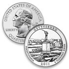 2011 5 Oz Silver Gettysburg America the Beautiful 25c ATB Coin No Reserve