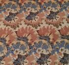 Splotches Blue Tan Brown by Blank Quilting BTY Gold Metallic