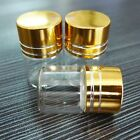 50pcs 22x30mm Tiny Small New Empty Clear 5ml Bottles Glass Vials With Screw Cap
