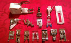Low Shank Snap On Sewing Feet 15 pc. Set Lot Singer, Brother, Walking Foot #BCC